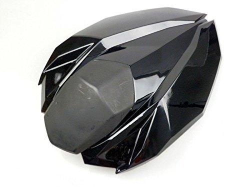XX eCommerce Motorrad Sozius Rückseite Sitz Abdeckung Cowl für 2012-2015 Kawasaki Ninja Z800 2013 2014 (Schwarz)