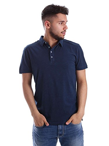 Gaudi jeans 71BU64088 Polo Man Blue