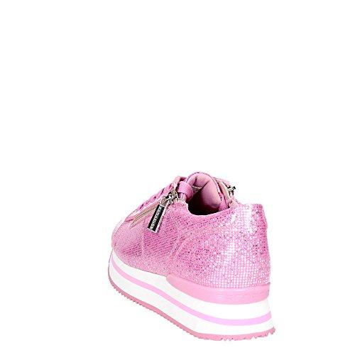 Donna Sneakers Bassa Fornarina Fuxia PE17TI1001G066 wYv4qt