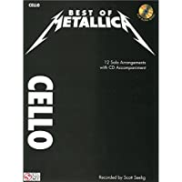 Metallica: Best Of - Cello - Partituras, CD