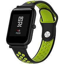 Ranuw - Correa de Reloj para Amazfit Bip Gear S2 Classic Vivoactive 3/HR Nokia