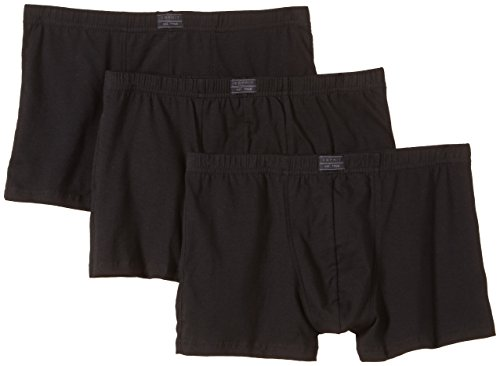 ESPRIT Bodywear Herren Retroshorts Value Pack, 3er Pack, Schwarz (001), Large (Herstellergröße: 6) - Pflege Value Pack