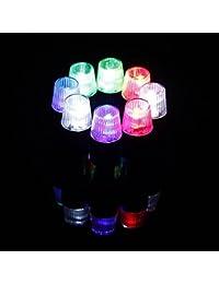 Bazaar Valve de pneu de pneu caps souches Neon Light couvercle vélo moto LED