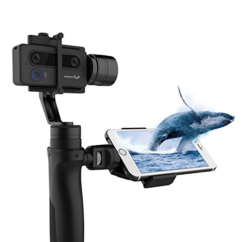 SID 3D-Kamera von Weeview - Mini 3D WLAN-Videokamera mit optionalem Handstabilisator/Gimbal (Kamera & Gimbal)