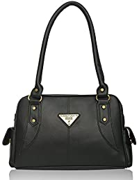 Fantosy Women's/Girl's Handbag ( Black,FNB-376)