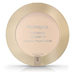 Neutrogena Mineral Sheers Powder Foundation,Light 20, 0.34 Ounce (Pack of 2)