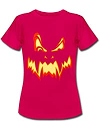 Spreadshirt Halloween Pumpkin Women's T-Shirt