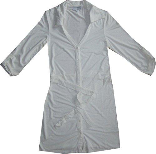 Longshirt von heine modisch in offwhite / weiß Offwhite