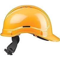 Scott Safety HC335/VHY-SB-Cricchetto con spugna ad alta visibilità, a specchio,