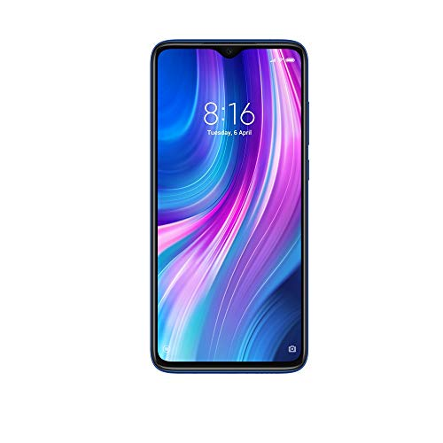 Redmi Note 8 Pro (Electric Blue, 6GB RAM, 128GB Storage with Helio G90T Processor) - Extra 1,000 Off on Exchange & 6 Month No Cost EMI