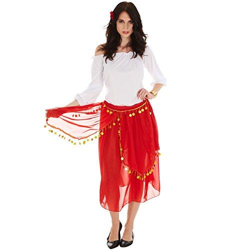 Dressforfun Disfraz Gitana Mujer | Parte Superior