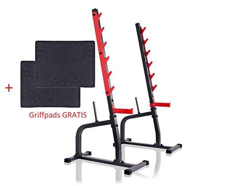 Kniebeugenständer MS-S105 von Marbo Sport Hantelablage