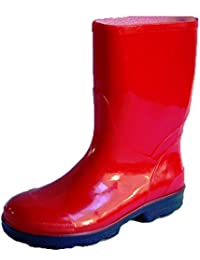 Rontani Botas Para Hombre Rojo Rojo
