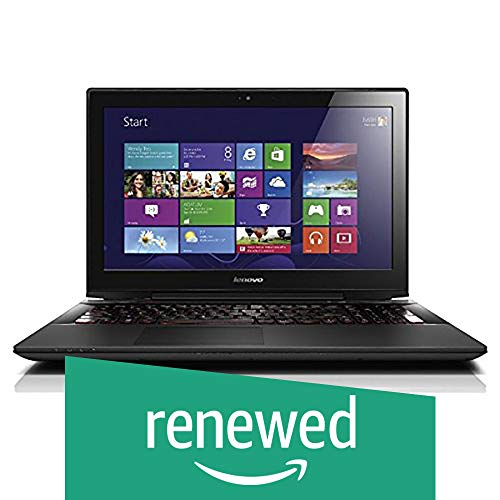 (Renewed) Lenovo Y50-70 15.6-inch Laptop (4th Gen Core i7-4710HQ/8GB/1TB/Windows 10/4GB Graphics), Black
