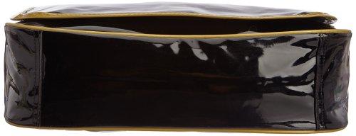 Le Temps des Cerises Rumba Bi-color 8 Umhängetasche Multicolore (Noir/Bronze)