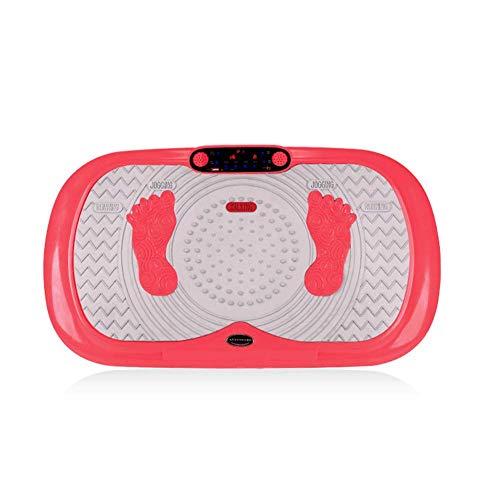KOSHSH Fitness Vibration Platform, Vibrationstrainer, Bluetooth-Musiklautsprecher, Oszillierende Platten, Schütteln des Ganzen Körpers, B