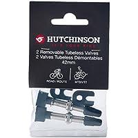 Hutchinson AD60207 Kit de Valvulas Tubeless Universales (2 Unidades), Unisex, Gris Negro, Talla Única