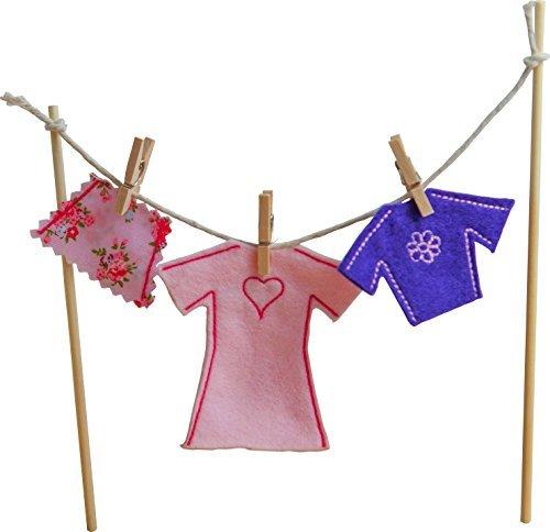 Irish Fairy door Clothes line (Female) Made Clothing Line