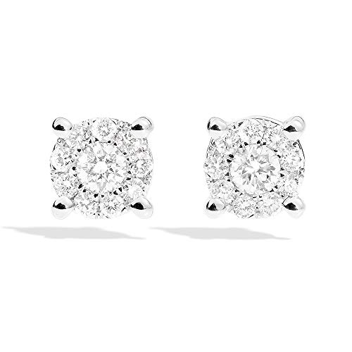 Orecchini punto luce Recarlo Nodo D' Amore con Diamanti XD989/060