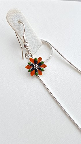 jewellery-set-flower-love-orange-green-black-pearl-and-blue-necklace-with-double-sided-pendant-and-e