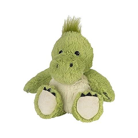 Warmies Cozy Plush Green Dinosaur Fully Microwavable Toy