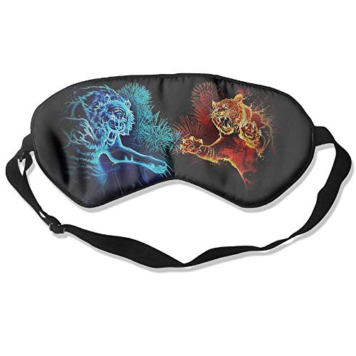 Sleep Mask Abstract Tigers Eye Cover Blackout Eye Masks,Soothing Puffy Eyes,Dark Circles,Stress,Breathable Blindfold