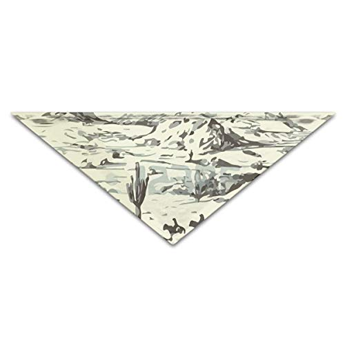 deyhfef American Wild West Desert Cowboys Pet Dog Cat Puppy Bandana Triangle Head Scarfs - Cowboy Doggy Pet Kostüm