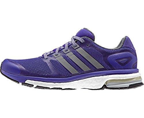 Adidas Adistar Boost Glow Women's Chaussure De Course à Pied - SS15 Blau