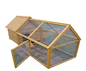 Cocoon Chicken Coop Hen House Poultry Ark Nest Box New - Model 1000 With Detachable Huge 1.4m Run