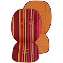 Poplico  - Colchonetas Reversibles para sillas de paseo (Pumpkin/ Orange)
