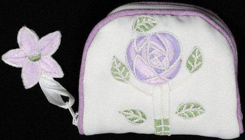 Schmuck Geldbörse Im Mackintosh-Design Purple Rose Design -