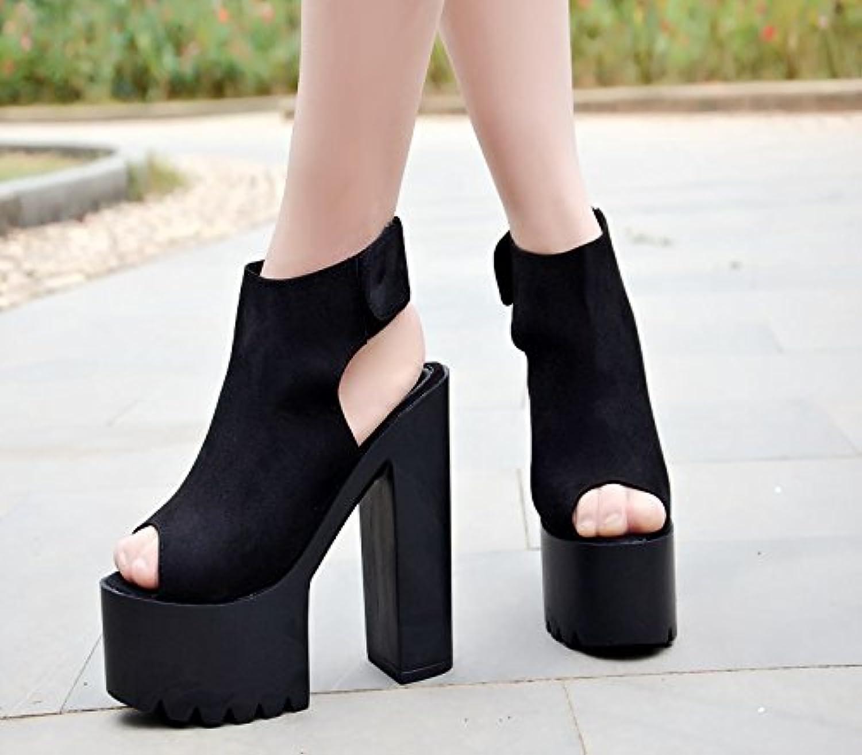 9ca1e255366 XiaoGao 15 cm super super super heel sandals B07D5TYL7G Parent 84cd1c