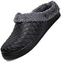 Easondea Pantofole da All aperto Ciabatte da Giardino Zoccoli e Sabot Uomo  Donna Inverno Infradito e3699898714