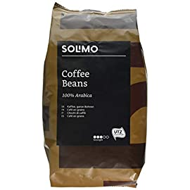 Amazon Brand – Solimo Coffee Beans, 2 x 1kg