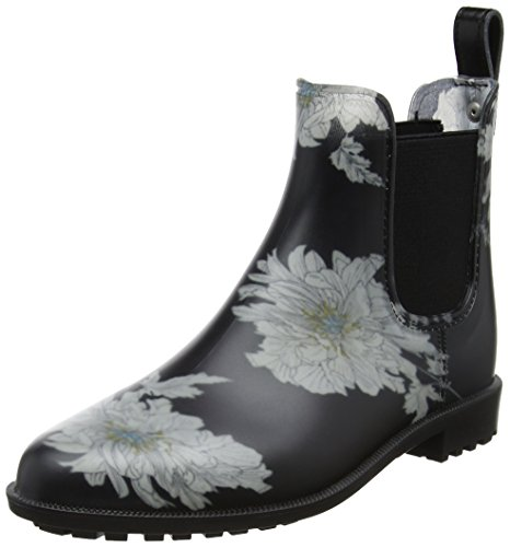 Tom Joule - Rockingham, Stivali di gomma Donna Nero (Black Floral)