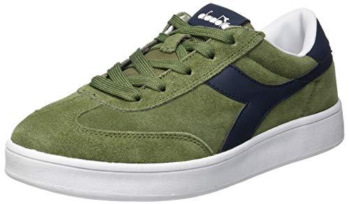 Diadora field gs, scarpe sportive unisex – bambini, verde (verde olivina 70398), 37 eu