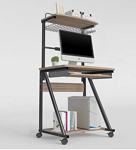 BOC Wandmontage Computer Schreibtisch Schreibtisch Mit Hutch Modern Style Workstation Schreibtisch Für Zuhause Oder Büro Drop-Leaf-Tabelle,B,Schreibtisch (Moderne Hutch Schreibtisch Mit)