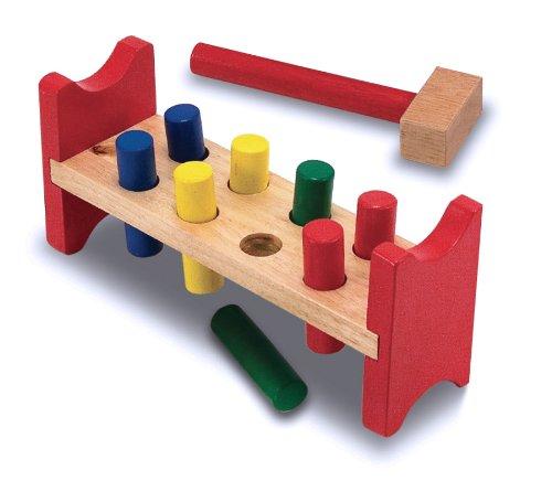 Melissa & Doug - Martilla las clavijas, juguete educativo (10496)