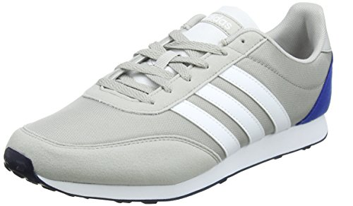 adidas V Racer 2.0, Zapatillas Para Hombre, Gris (Grey Two F17/ftwr White/Collegiate Royal), 41 1/3 EU