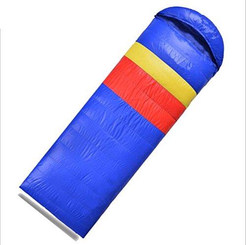 RJ YXX Schlafsack Eine Vielzahl von Jahreszeiten trifft zu Tragbar Praktisch Multifunktion Schlafsack Im Freien Camping Winddicht Wasserdicht Anti-kalt, Kaschmir Inhalt von 800 Gramm -