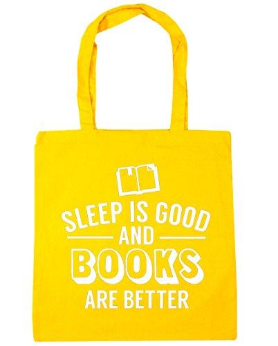 hippowarehouse-sueno-es-buena-y-libros-son-mejor-tote-compras-bolsa-de-playa-42-cm-x38-cm-10-litros-