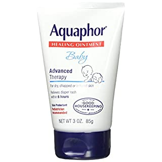 Aquaphor Baby Advanced Therapy Healing Ointment Skin Protectant 3 Ounce Tube (Pack of 3) by Aquaphor
