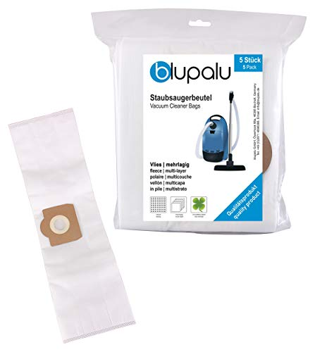 blupalu I Staubsaugerbeutel für Kärcher WD 3 | WD3 Mehrzwecksauger I 5 Stück | für Industriesauger extrem reißfest Staubbeutel Filtersack