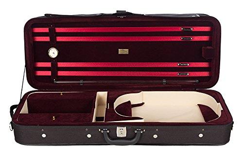 Bratschenkoffer Schaumstoff Premium 38-43 cm weinrot M-Case