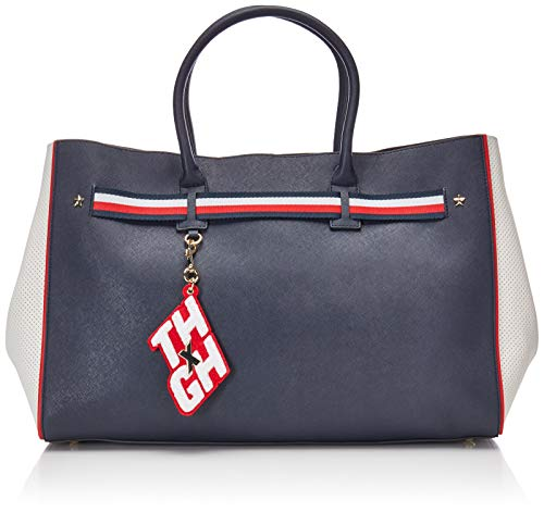 Tommy Bag Gigi Hadid Tote Navy Bright Wh Farbe: Navy
