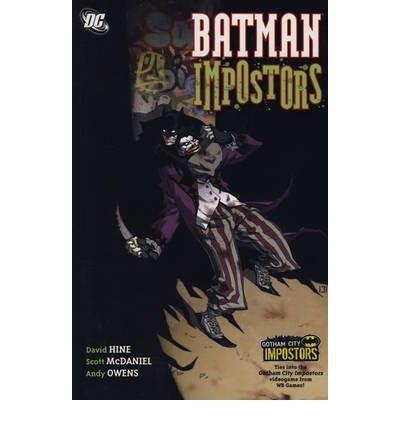 BATMAN BY (HINE, DAVID) PAPERBACK