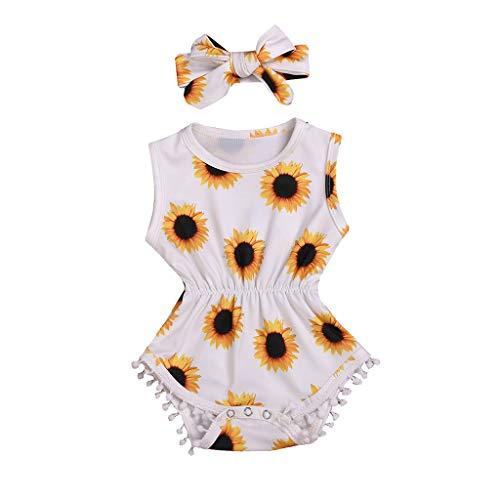 Familie Julywe Vater Mutter und Tochter Süßes Sonnenblume Kleid Shirt Beiläufig kurzärmeliges Kleid Mommy & Me Partykleid Kleinkind Baby Kinder Sonnenblume Kleid Outfits Familie (Kleinkind Kleider Clearance)