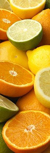 Plage Naranjas Pomelos Y Limones Vinilo Adhesivo Cocina