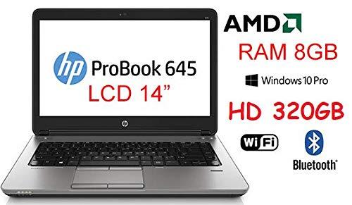 Notebook HP Probook 645 Core A6 3,2Ghz 320GB LCD 14' WIN 10 PRO (Ricondizionato Certificato)