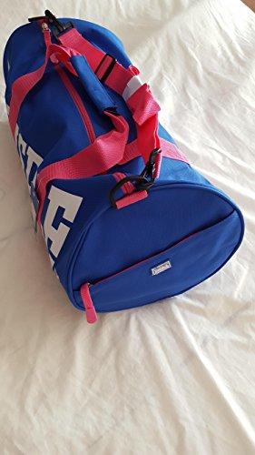 Barrel Tasche Reisetasche Sports Gym Travel Bags blau/rose